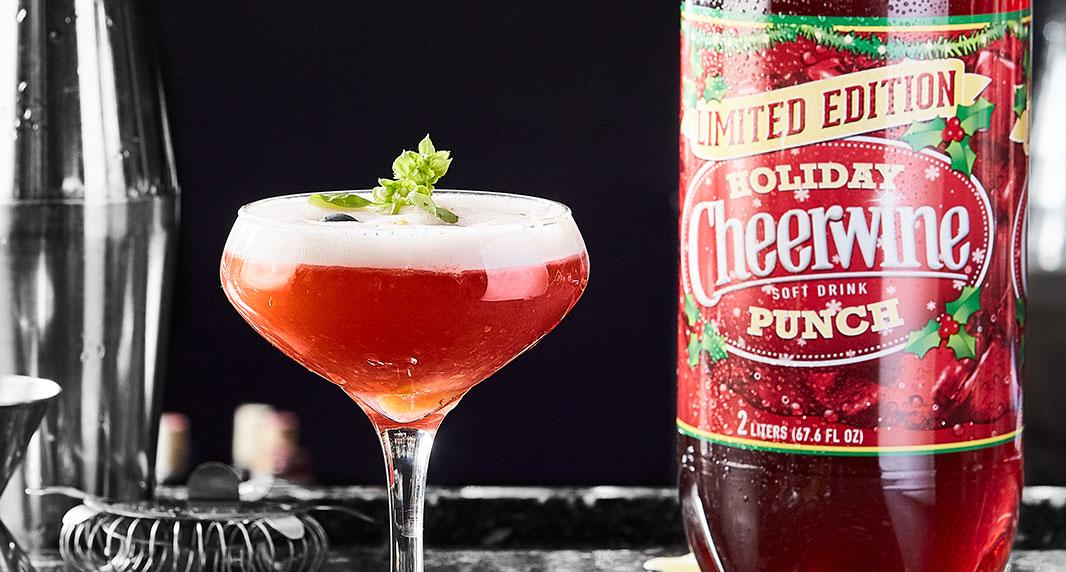 Chef Grandinetti's Cheerwine Punch Cocktail