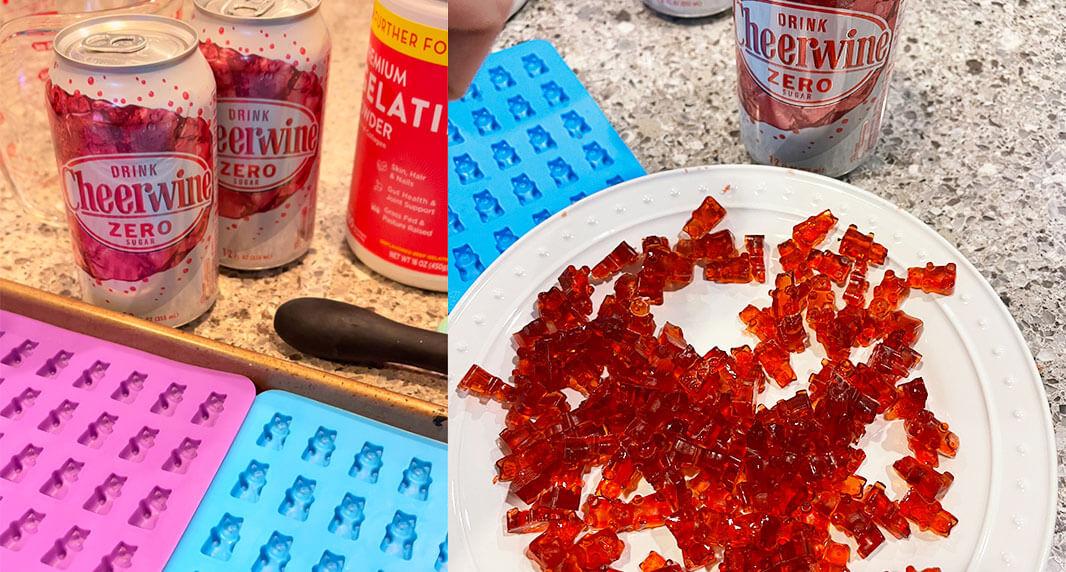 Cheerwine Gummy Bears