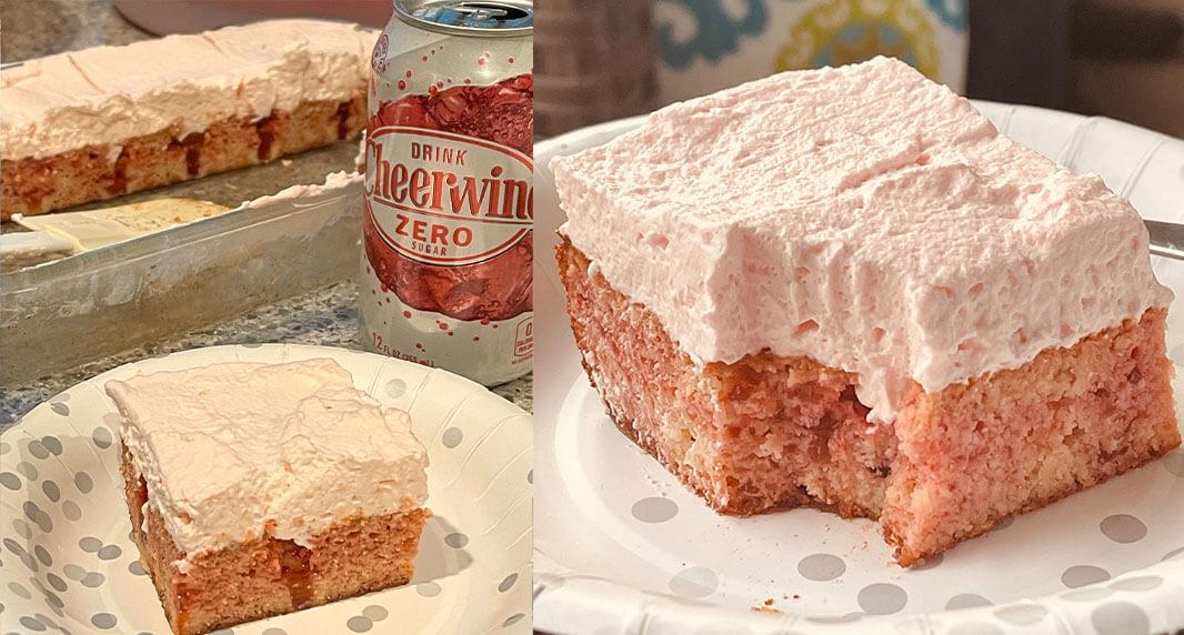 Sugar Free Poke Cake