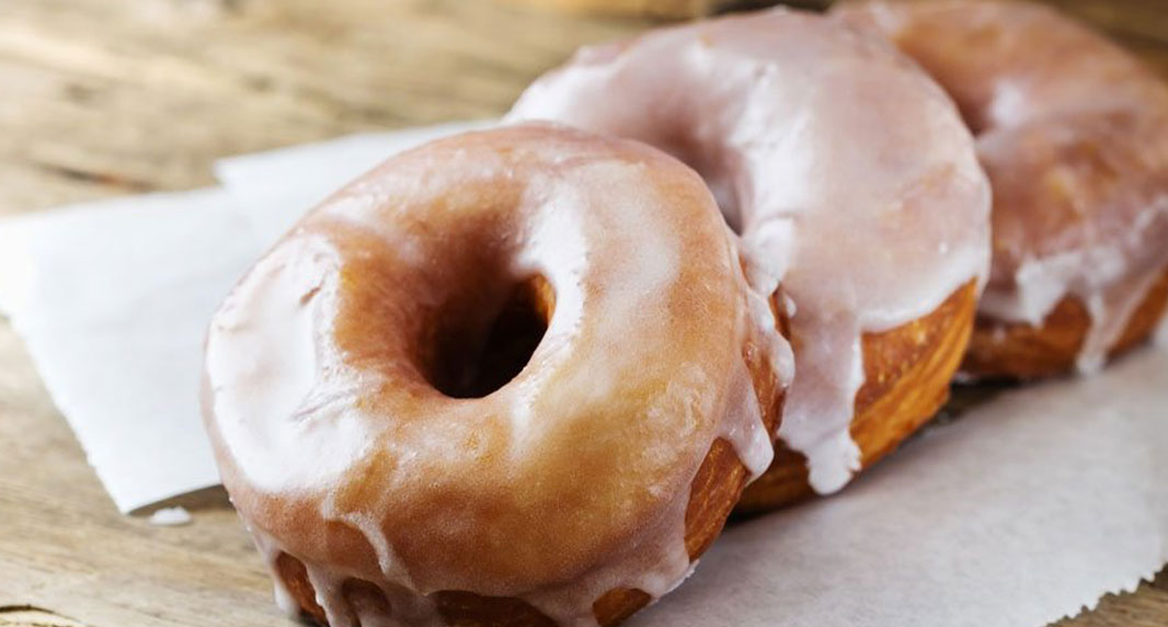 Baked Cheerwine Donuts