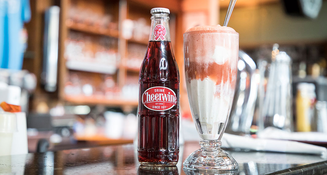 Boozy Cheerwine Float