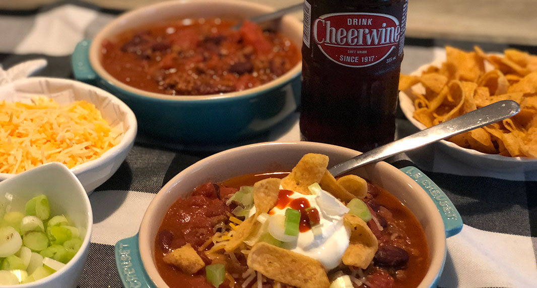 CHA! Cheerwine Chili