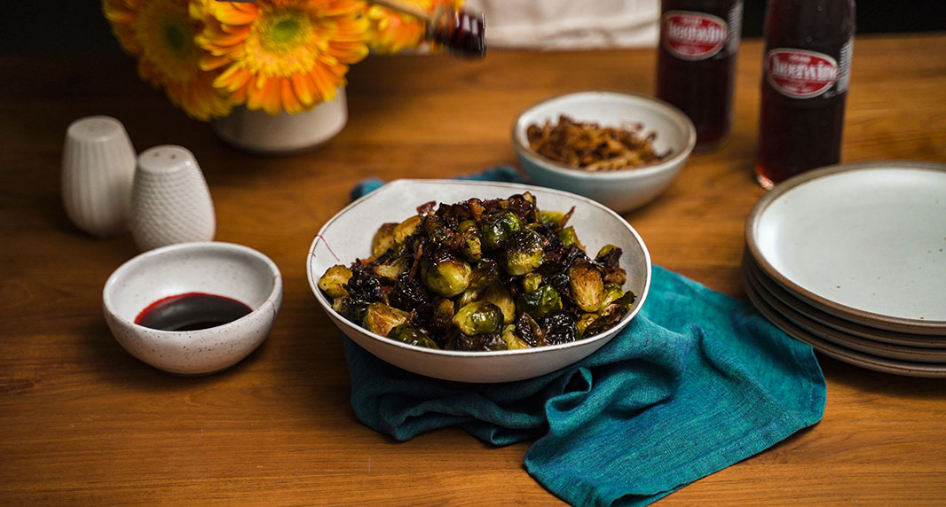 Cheerwine Brussels Sprouts