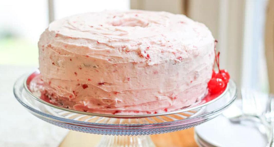 Southern Cheerwine Bundt Cake