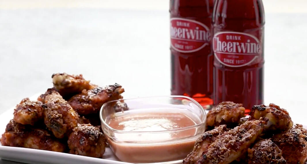 Cheerwine Chicken Wings
