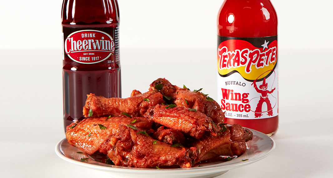 Cheerwine Texas Pete Chicken Wings