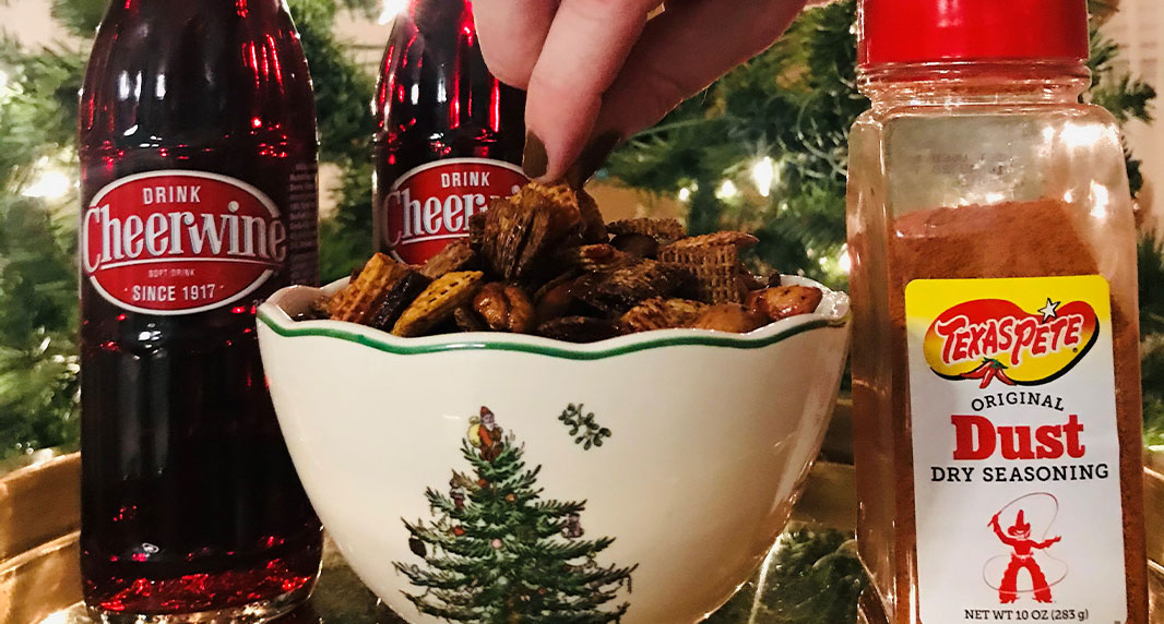 Holiday Heat + Sweet Snack Mix