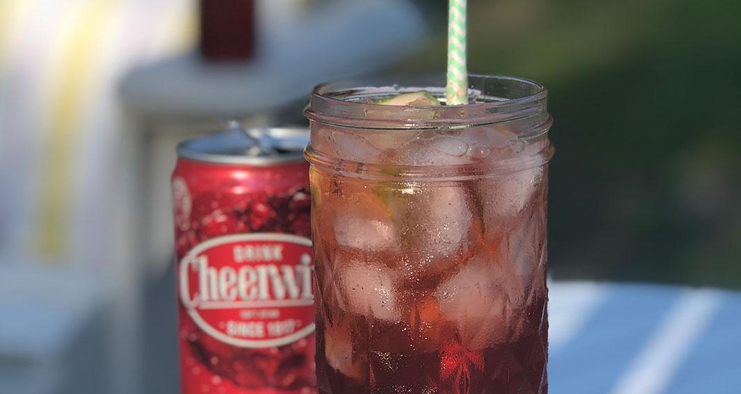Lee Bros Cheerwine Cocktail #1